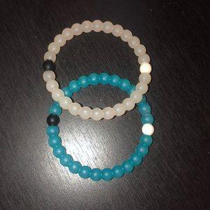 Two Lokai Bracelets